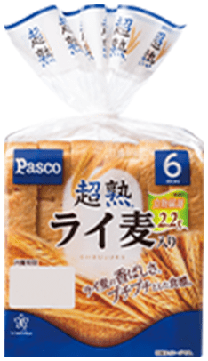 おすすめのパン 超熟ライ麦入り(6枚スライス)
