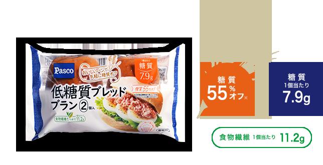 糖質40%オフ 食物繊維6.7g