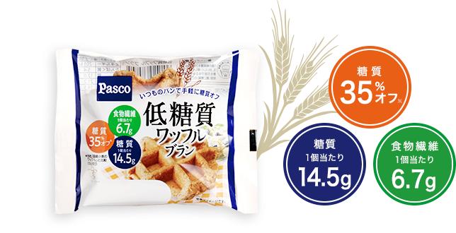 糖質35%オフ 食物繊維6.8g