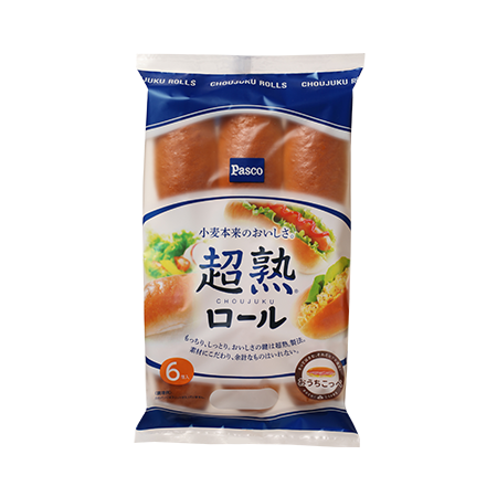 超熟ロール | Pasco | 超熟のPasco | 敷島製パン株式会社